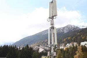 LTE Antenne; Bild: Swisscom